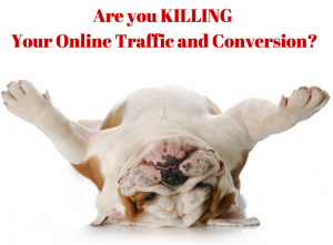 Learn 7 Ways You Can Hurt our Own Traffic and Conversions
